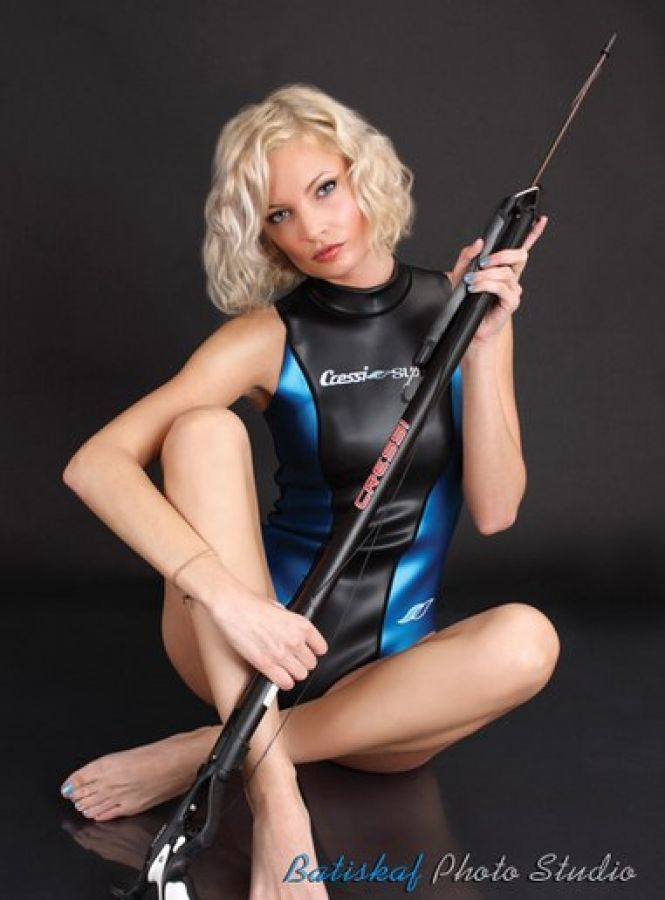 Cressi one piece wetsuit pool play 6