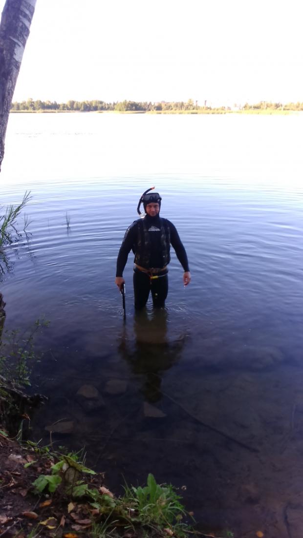 Озеро Лебяжье, г. Дубна Московская область.